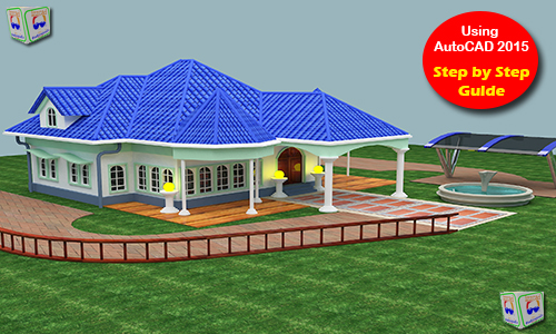 Autocad 3d House Modeling Tutorial Course Using Autocad